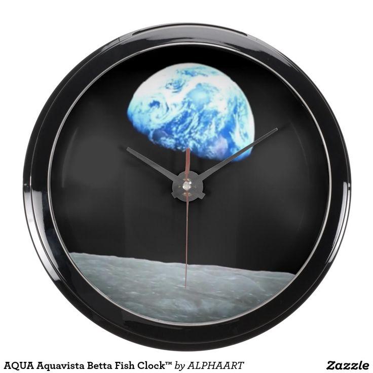 AQUA Aquavista Betta Fish Clock™ Aqua Clock