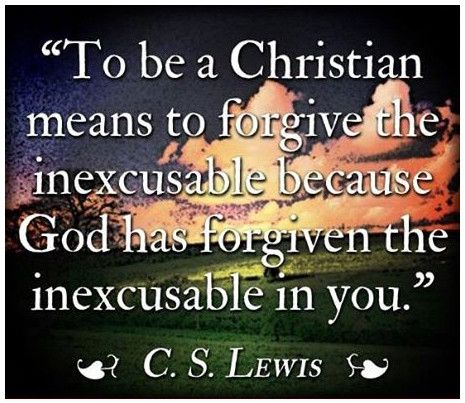Christianity and forgiveness