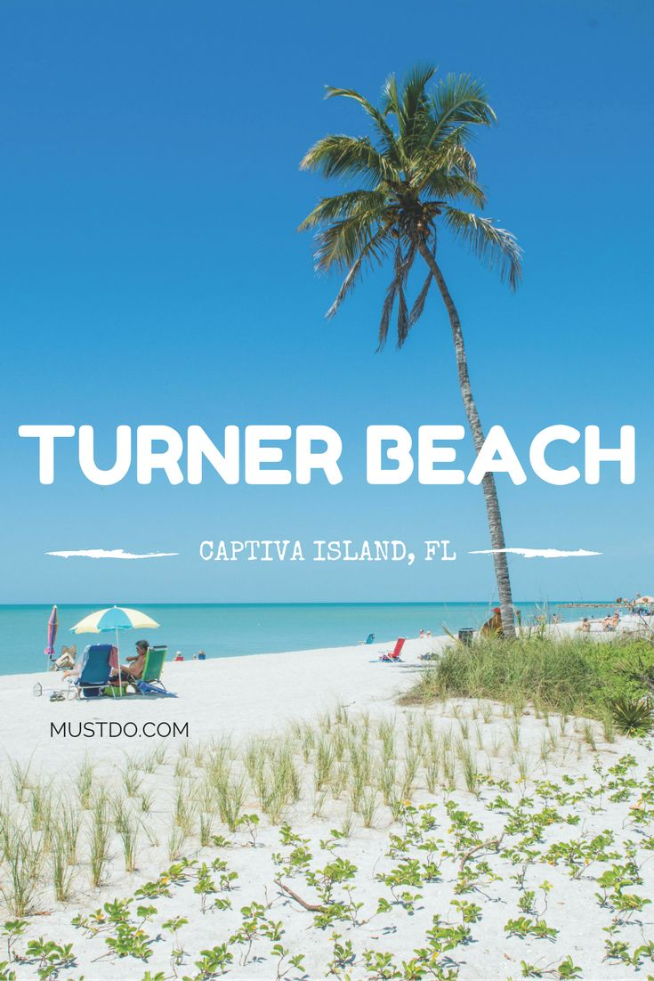 Turner Beach which is located on the southern tip of Captiva Island is popular for fishing from the beach and rock jetty, shelling, and admiring beautiful Gulf of Mexico sunsets. #florida
