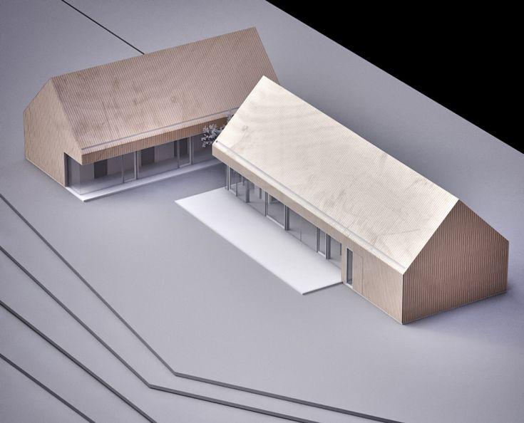 mimo-studio-barn-house, architectural model, maquette, model0