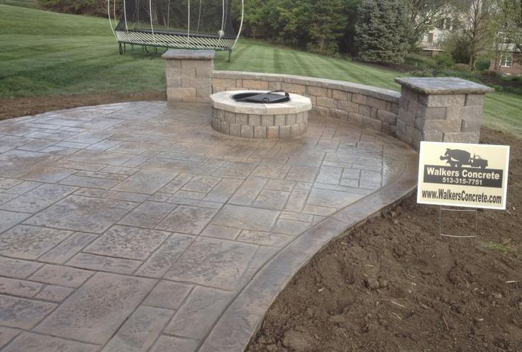 Best 25 Concrete Patio Cost Ideas On Pinterest Stamped