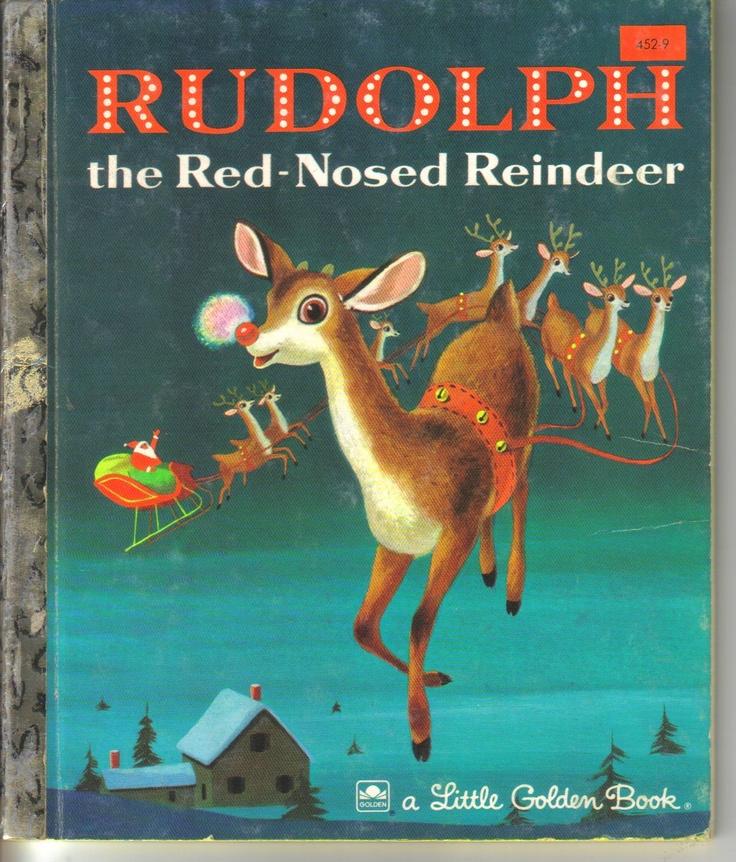 Rudolph The Red Nose Reindeer Little Golden Book 1976