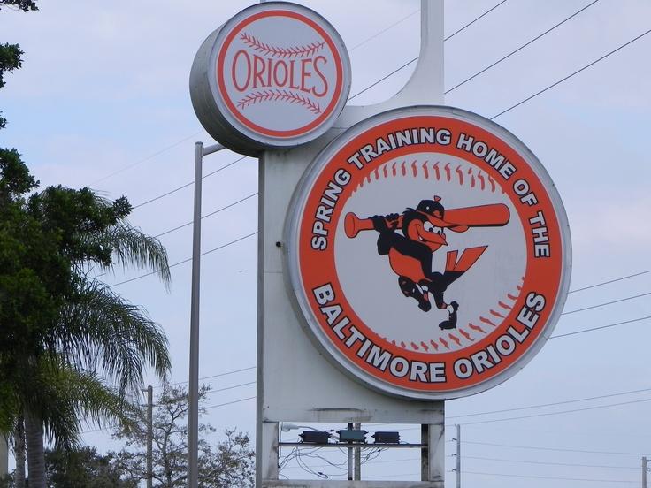 Baltimore Orioles Baseball Spring Training Camp