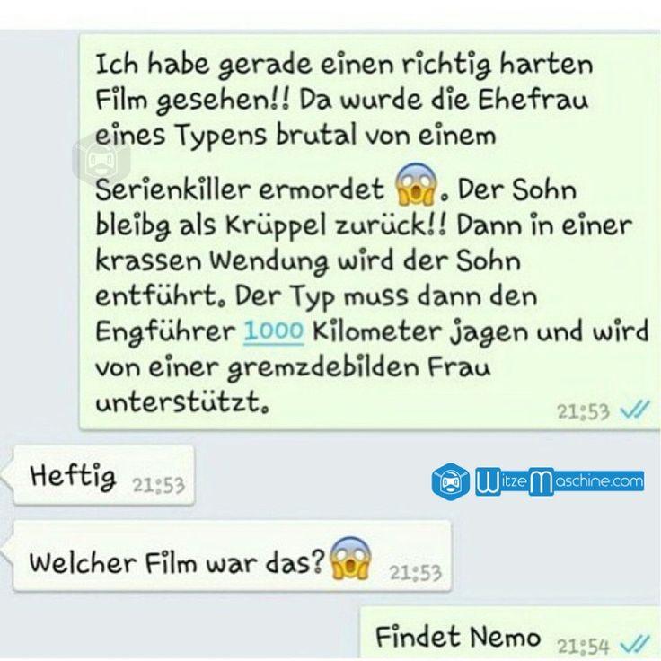 Lustige WhatsApp Bilder und Chat Fails 89 - Findet Nemo ist brutal