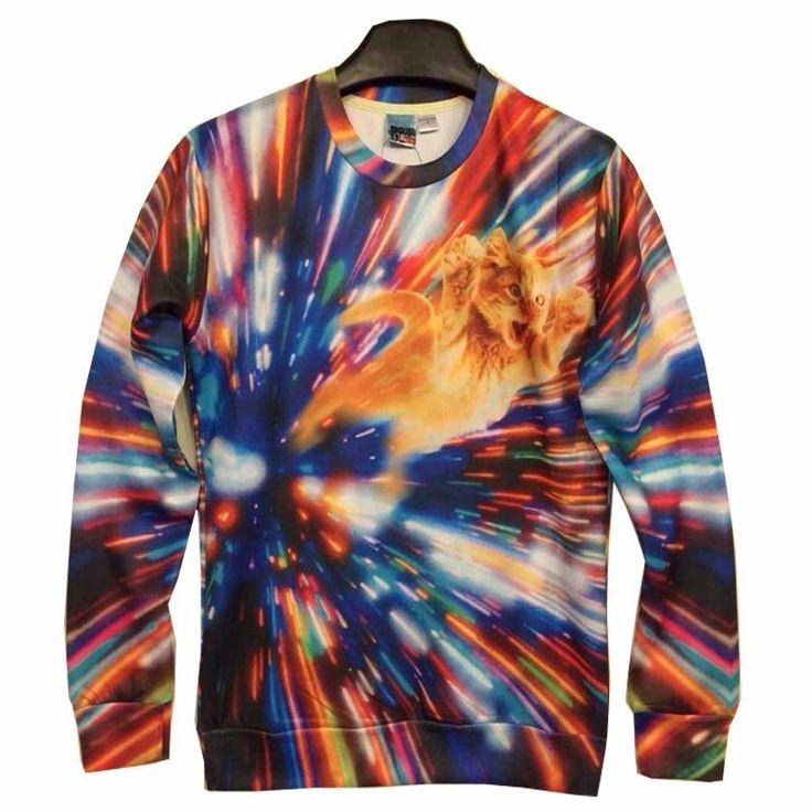 Speed Cat 3D Sweater – WeLoveCats