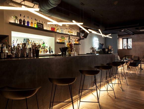 Barra de bar de dise o restaurante sexto restaurant for Diseno restaurante