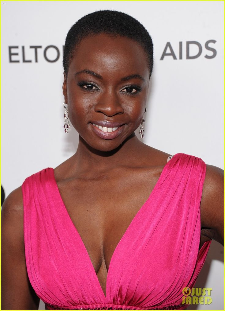 Danai Gurira (of THE WALKING DEAD) - Elton John Oscars Party 2013 |
