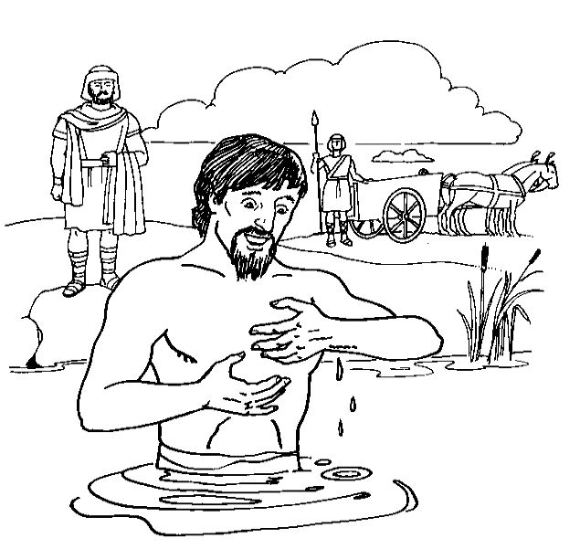 Find This Pin And More On Bible Class Divided Kingdom Naaman The Servant Girl Coloring Pages