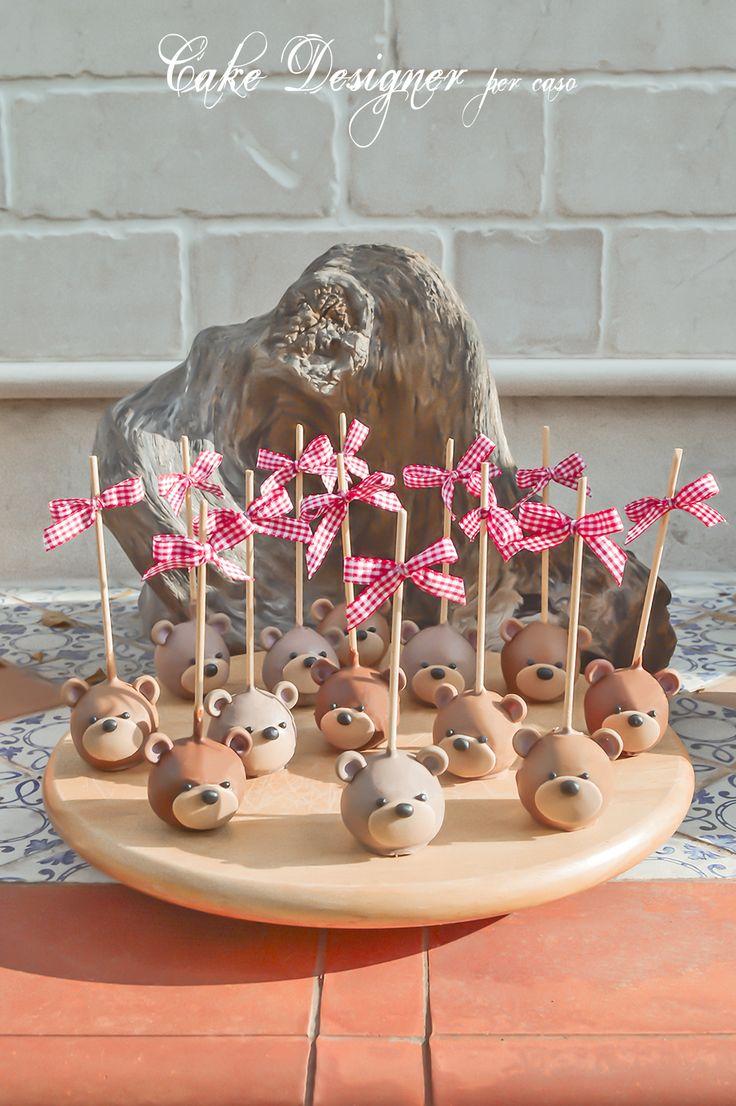 Cake Designer per caso [Adorable Teddy Cake Pops]