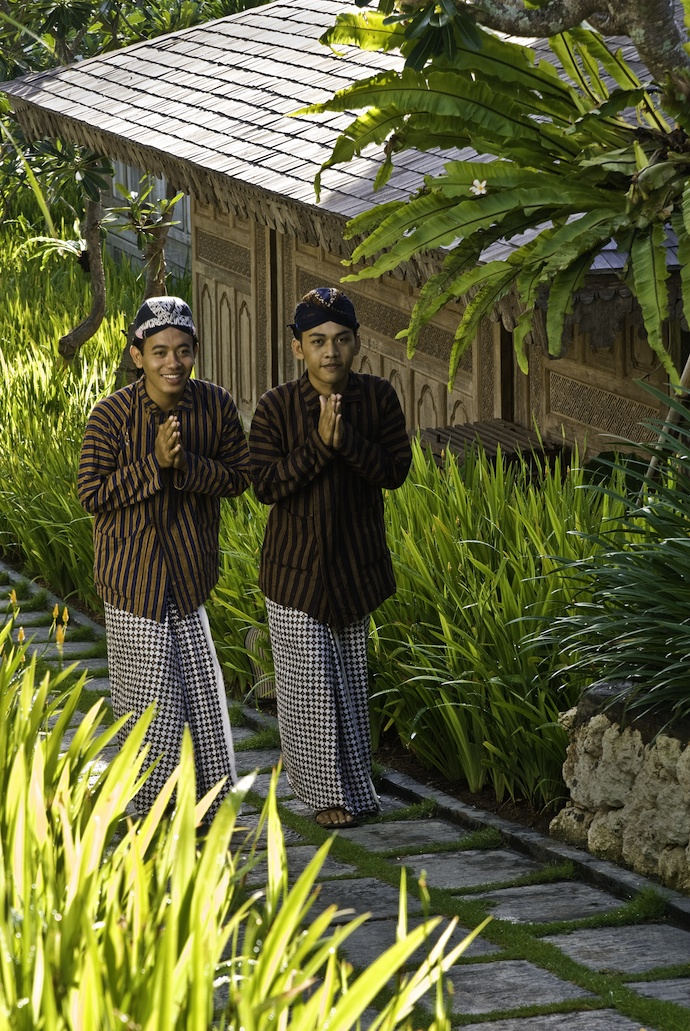 Traditional javanese outfit