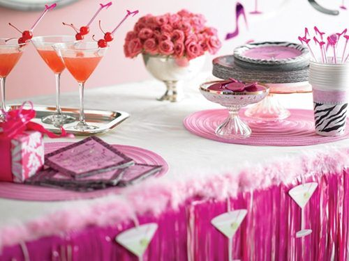 Sassy sweet party pinterest for Adult birthday decoration