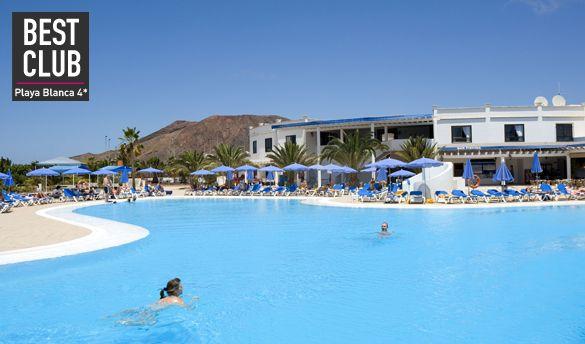 Séjour Lanzarote Lastminute, promo séjour Playa Blanca pas cher au Best Club Rio Playa Blanca 4* prix promo Lastminute de 549,00 € TTC en To...