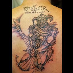 celtic warrior tattoos are popular with people of irish scottish