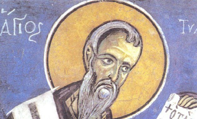 Long ago, in the days when Arcadius and Honorius ruled the Roman Empire, a saint was born on the islanld of Cyprus. His parents were pious, humble islanders whose names are not recorded. The saint's name was Tychon. Tychon's father was a baker in a small Cypriot village. Each day, as he measured