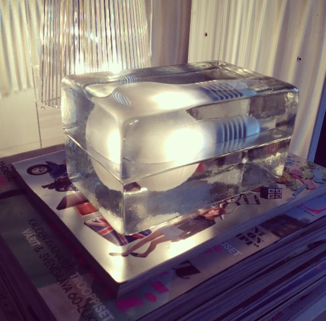 Design House Stockholm Block lamp by Harri Koskinen
