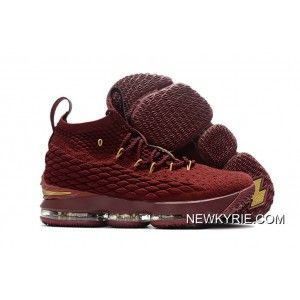 check out ab7d3 512c2 Newest Nike LeBron 15 Wine-Red Gold Authentic, Price   110.00 - New Kyrie  Basketball Shoe Online - NewKyrie.com