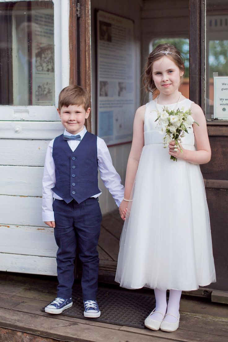 39 best flower boys images on pinterest flower boys marriage a railway museum wedding with an elegant handmade lace gown and maids in navy blue ombrellifo Image collections