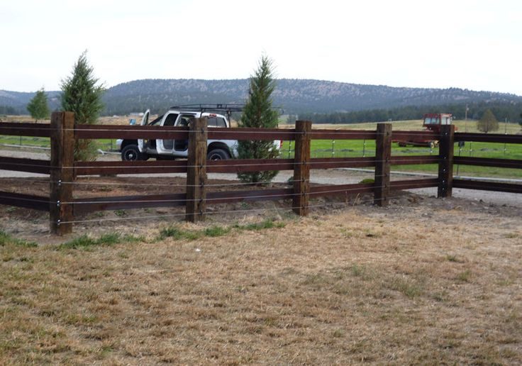 Pole Fence Designs Wood pole fence how to build a fence pictures and home fencing wood pole fence how to build a fence pictures and home fencing designs country fence pinterest fences wooden poles and woods workwithnaturefo