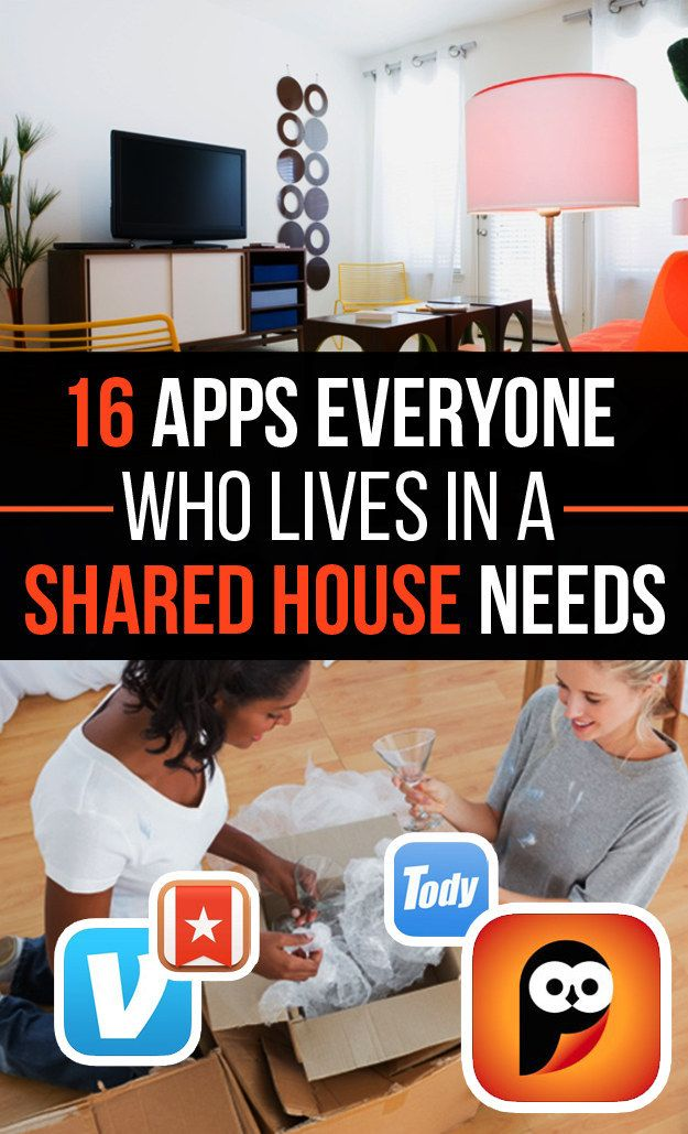 16 Apps Everyone Who Lives In A Shared House Needs