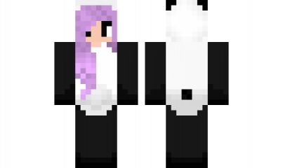 minecraft skin panda-girl Find it with our new Android Minecraft Skins App: https://play.google.com/store/apps/details?id=the.gecko.girlskins