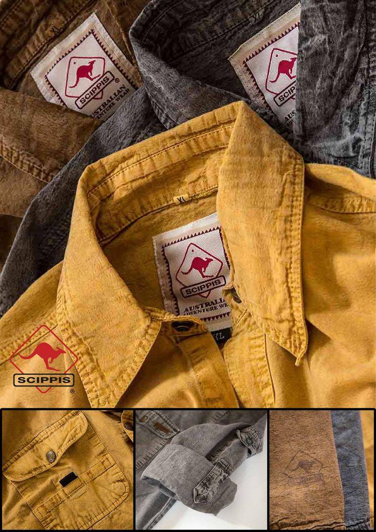 Skjortor från #Brandbynature och Scippis