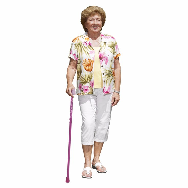 Breast Cancer Awareness Folding Cane by Drive Medical