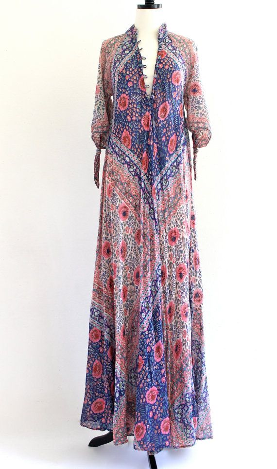 Summer dress vintage indian