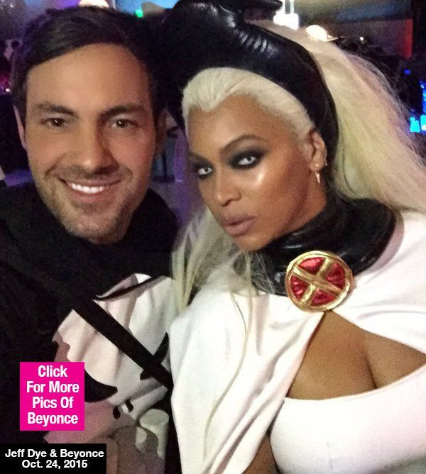 Beyonce Dresses As A Sexy Storm From 'X-Men' For Ciara's Birthday Party — Pic