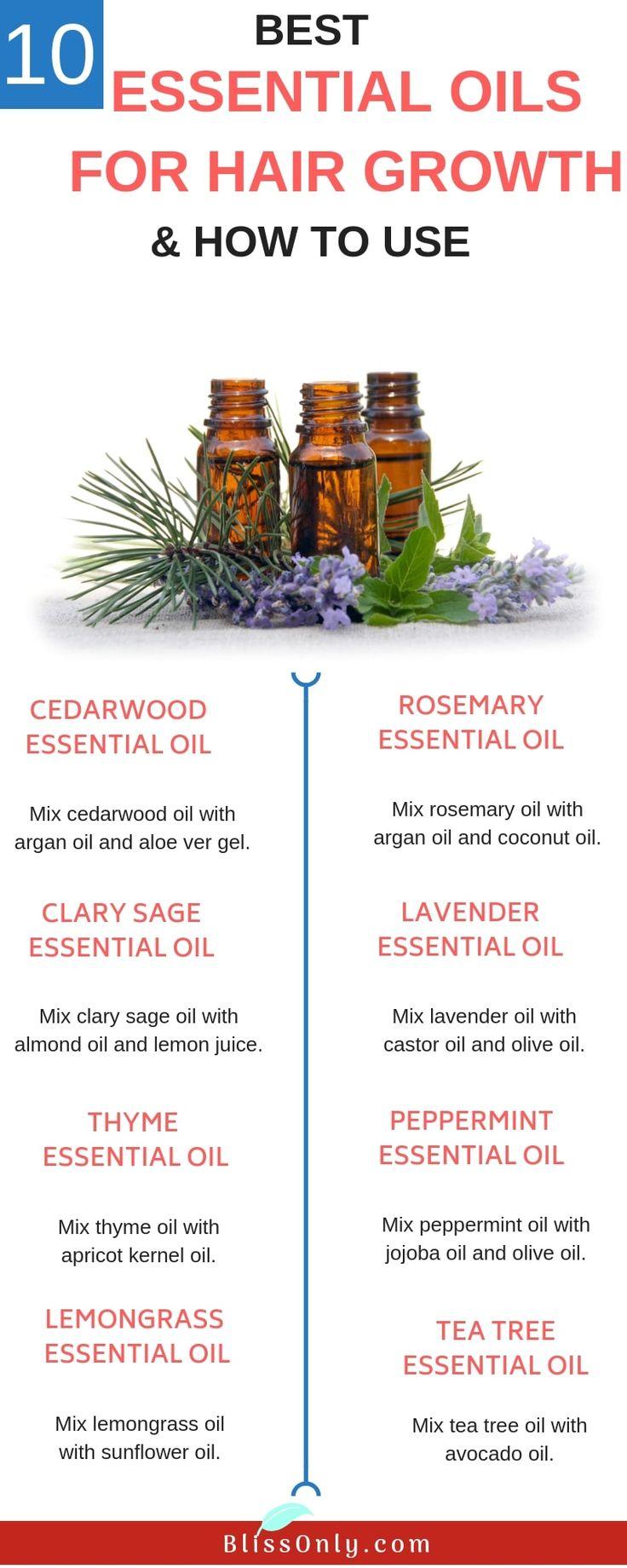 10 besten ätherischen Ölen für das Haarwachstum. Die Verwendung von ätherischen Ölen ist eine der besten …   – Best Of Blissonly