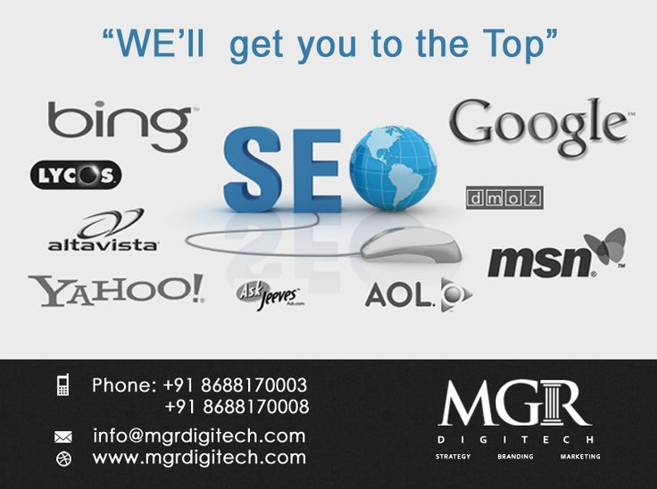 Search Engine Optimization MGR DIGITECH helps you to make major search engines work and optimize your website for not as competitive  key words but for generating more traffic.  For more details Contact us today : Contact: Phone: +91 8688170003 +91 8688170008 Email-Id:info@mgrdigitech.com Website:www.mgrdigitech.com  #MGR, #MGRDigitech, #Digital, #OnlineSales, #DigitalSolutions, #SEO