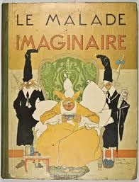 "1673: Molière falls fatally ill when acting in his own play called ""Le Malade Imaginaire"""
