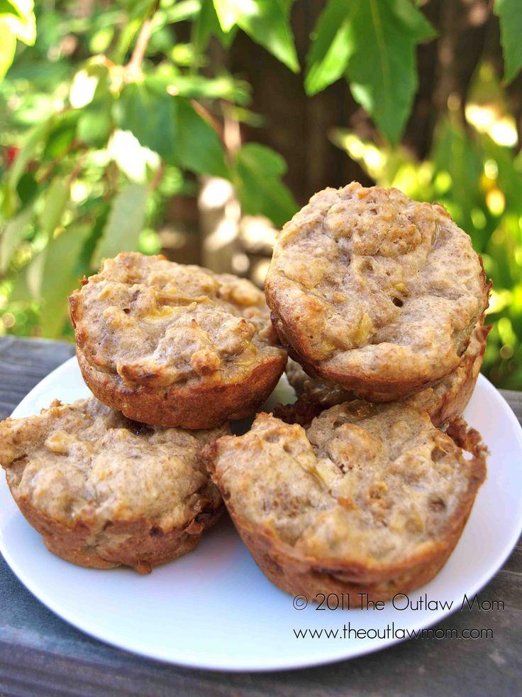 banana weetabix muffins