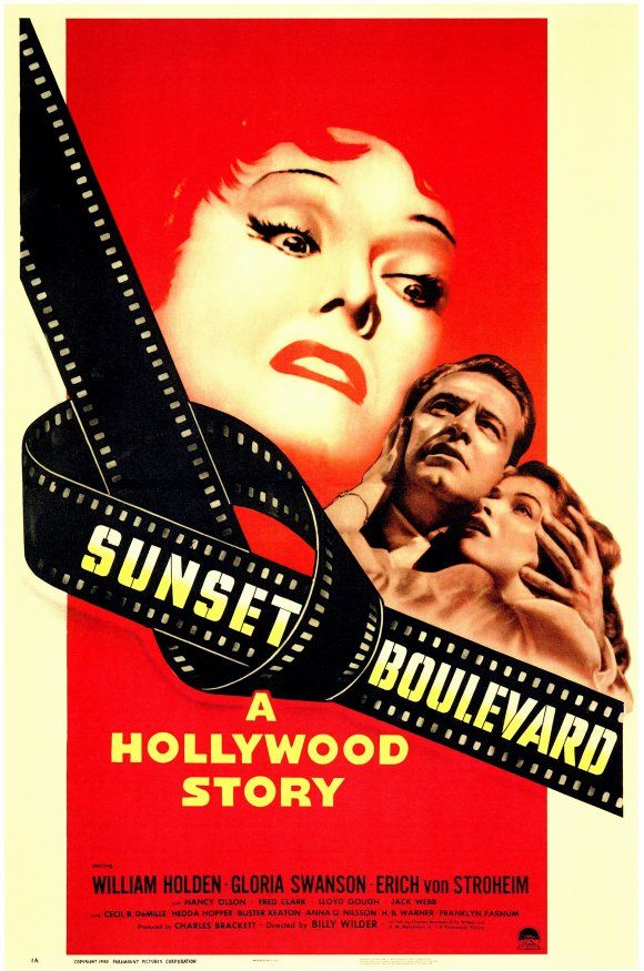 Sunset Boulevard (1950) Gloria Swanson gives one of the most amazing performances ever captured on film.