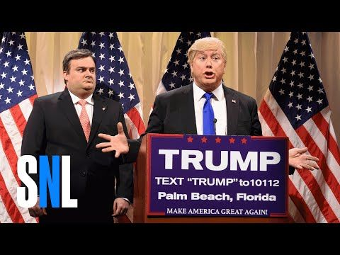 Saturday Night Live makes fun of Donald Trump's 'racist' supporters — twice in one show - The Washington Post