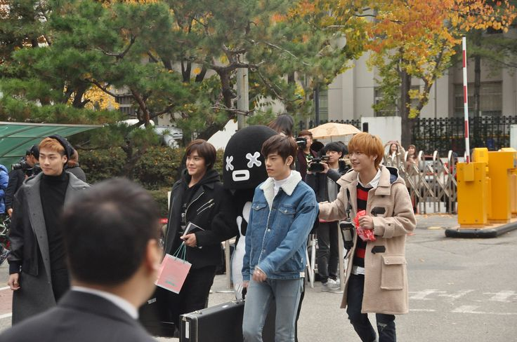 151113 N.Flying arriving at Music Bank by KpopMap #musicbank, #kpopmap, #kpop, #nflying, #kpopmap_nflying, #kpopmap_151113
