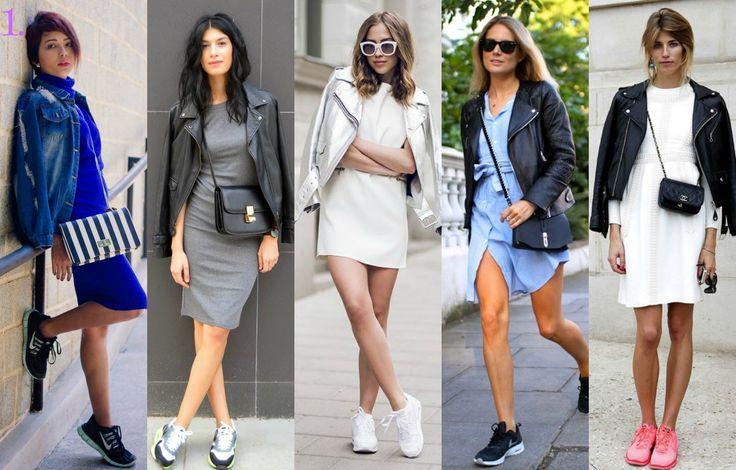 Adidasi cu rochii