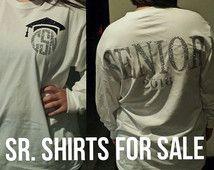 Senior Shirts - Senior Monogrammed Shirts - Senior 2016 - Monogrammed Shirts