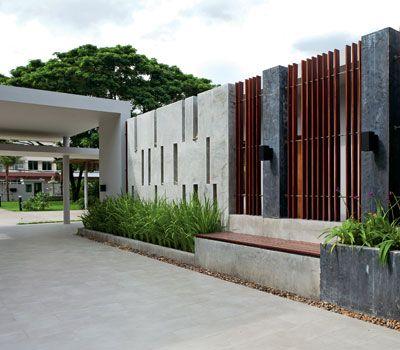 Wall fencing designs roomdesignasprovider best 25 fence wall design ideas on pinterest modern fencing and wall fencing designs workwithnaturefo