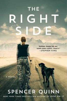 Book Review + Giveaway: The Right Side by Spencer Quinn, NYT Bestselling Author of Dog On It - Just Commonly