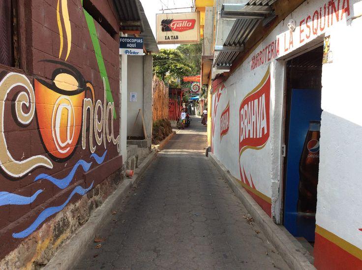I loved the narrow streets