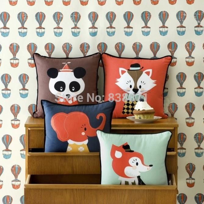 decorativas ferm living pillow cushion,cute fox decorate pillows,decorative throw pillows home decorative pillows for bed