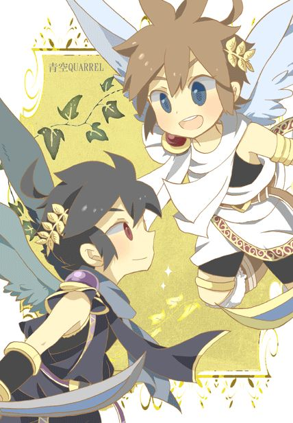 Pit and Dark pit (i dont call him pittoo)