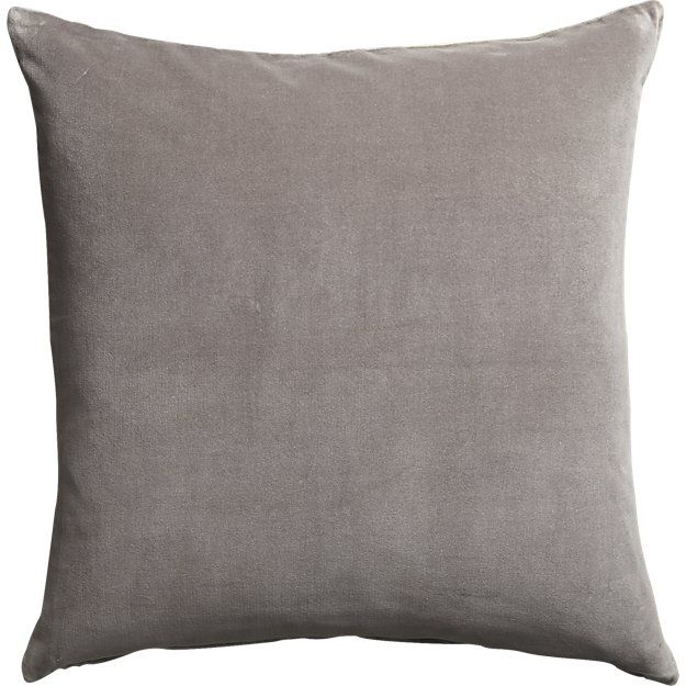 "Simple Elegant 23"" leisure grey pillow Photo - Unique throw pillows for sofa HD"