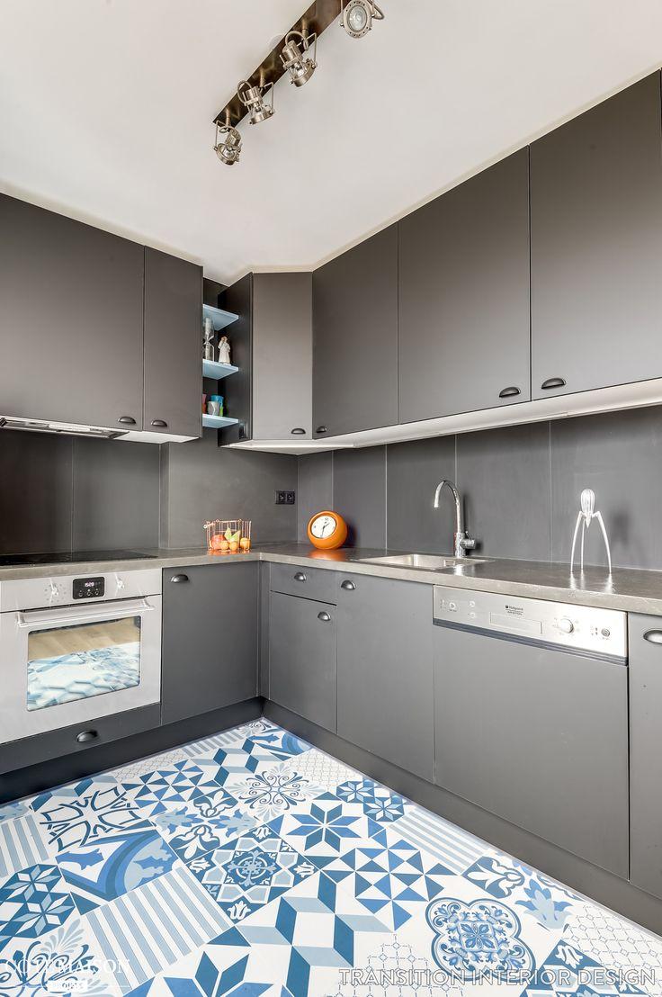 Rénovation complète d'un appartement pour un jeune couple, Transition Interior Design - Côté Maison