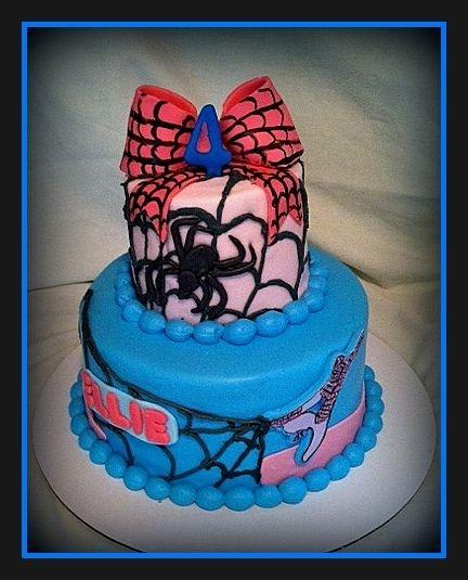 Spider Birthday Cake Photos