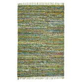 Found it at Temple & Webster - Primal Chindi Cotton Green Rug