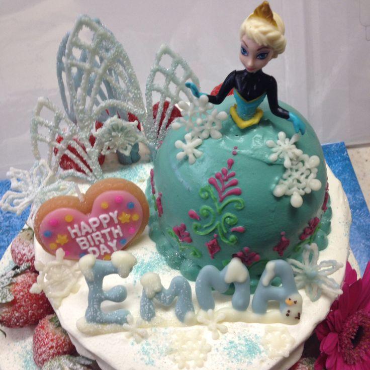 アナ雪 アナと雪の女王ケーキ♡ドールケーキ♡