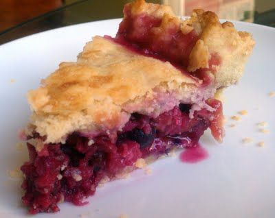 Bumbleberry Pie, a beautifully simple and beyond delicious pie, filled with blueberries, blackberries, raspberries, rhubarb, cranberries, strawberries, and apples.