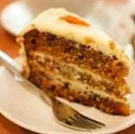 Dessert: Carrot Cake >>>> Common diabetes misperception:  you can never have cake or cookies or anything sweet ever again.  Don't you get tired of hearing that from other people and then correcting them?  Make this carrot cake the next time you have guests, and you won't hear that misperception from them.
