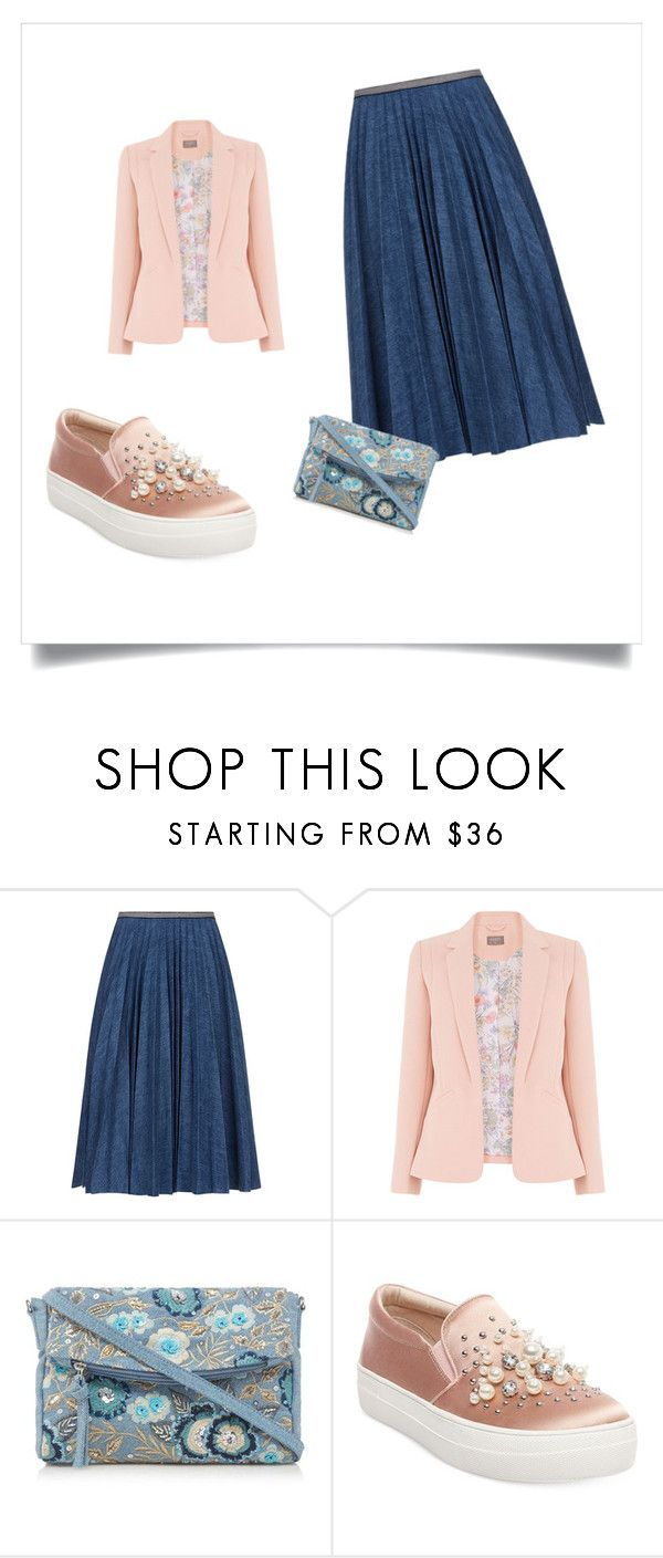 """""""set1"""" by sdelanodoma on Polyvore featuring мода, Leur Logette, Mantaray и Steve Madden"""